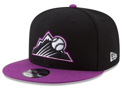 Colorado Rockies New Era 2017 MLB Players Weekend 9FIFTY Snapback Cap