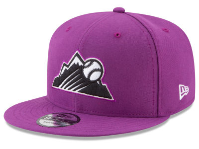 Colorado Rockies New Era 2017 MLB Players Weekend Youth 9FIFTY Snapback Cap