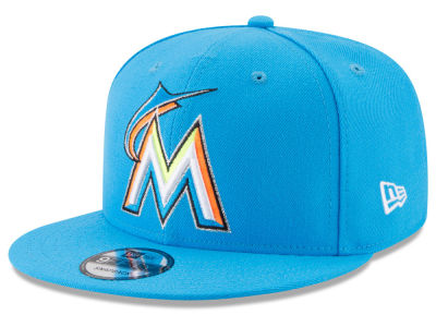 Miami Marlins New Era 2017 MLB Players Weekend Youth 9FIFTY Snapback Cap