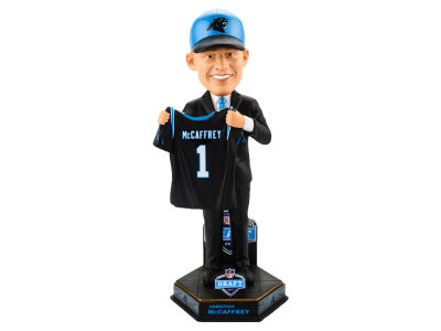 Carolina Panthers Christian McCaffrey Draft Day Bobblehead