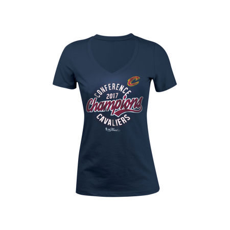 Cleveland Cavaliers 5th & Ocean 2017 NBA Women's Conference Champ T-Shirt