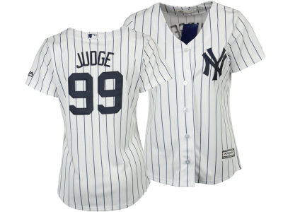 New York Yankees Aaron Judge Majestic MLB Women's Cool Base Player Replica Jersey