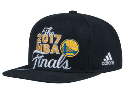 Golden State Warriors adidas 2017 NBA Conference Champ Snapback Cap