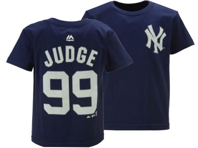New York Yankees Aaron Judge Majestic MLB Toddler Official Player T-Shirt