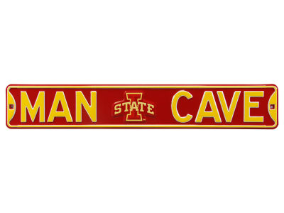 Iowa State Cyclones Street Fighter Authentic Street Sign Man Cave