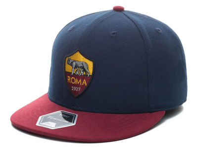 AS Roma Fan Ink Club Team Fi Fitted Cap