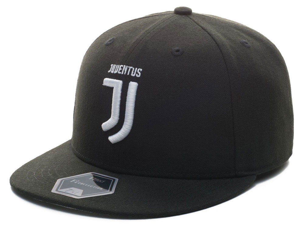Juventus Fan Ink Club Team Fi Fitted Cap  39bc3e19ffea