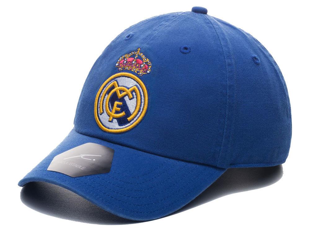 Real Madrid Fan Ink Club Team Fi Dad Hat  6ebb8f546c6