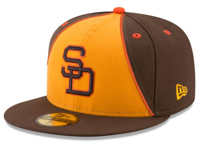 San Diego Padres New Era MLB Turn Back The Clock 59FIFTY Cap