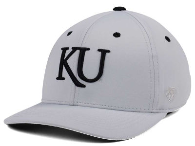Kansas Jayhawks Top of the World NCAA Grype Stretch Cap
