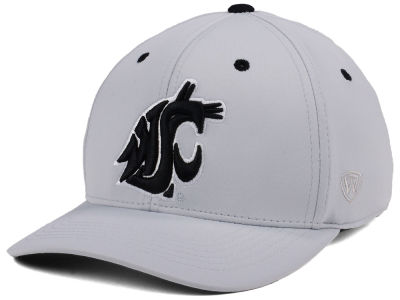 Washington State Cougars Top of the World NCAA Grype Stretch Cap