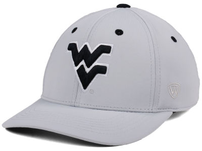 West Virginia Mountaineers Top of the World NCAA Grype Stretch Cap