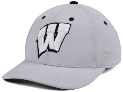 Wisconsin Badgers Top of the World NCAA Grype Stretch Cap