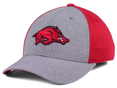 Arkansas Razorbacks Top of the World NCAA Faboo Stretch Cap