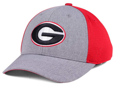 Georgia Bulldogs Top of the World NCAA Faboo Stretch Cap