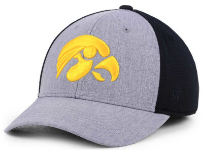 newest b12a5 5936f Iowa Hawkeyes Top of the World NCAA Faboo Stretch Cap