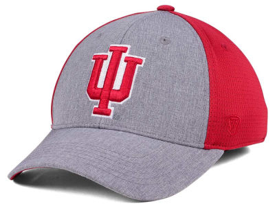 Indiana Hoosiers Top of the World NCAA Faboo Stretch Cap