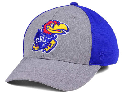 Kansas Jayhawks Top of the World NCAA Faboo Stretch Cap