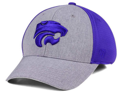 Kansas State Wildcats Top of the World NCAA Faboo Stretch Cap