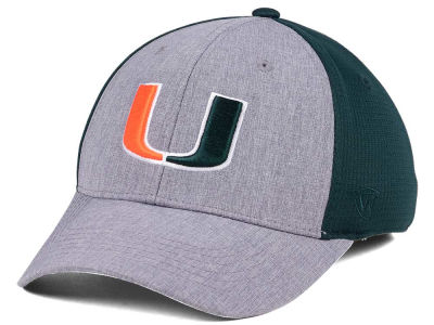 Miami Hurricanes Top of the World NCAA Faboo Stretch Cap