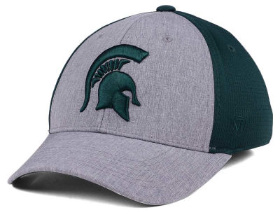 Michigan State Spartans Top of the World NCAA Faboo Stretch Cap