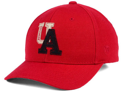 Arkansas Razorbacks Top of the World NCAA Venue Adjustable Cap