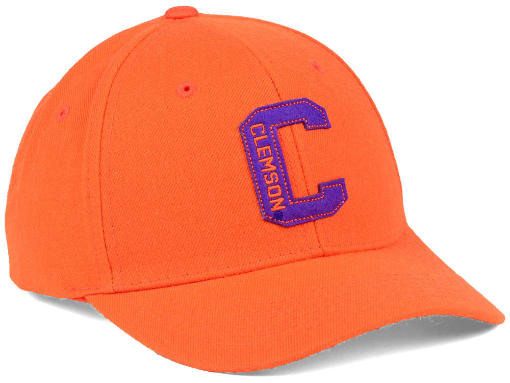 Clemson Tigers Top of the World NCAA Venue Adjustable Cap