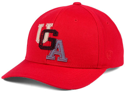Georgia Bulldogs Top of the World NCAA Venue Adjustable Cap
