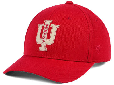Indiana Hoosiers Top of the World NCAA Venue Adjustable Cap