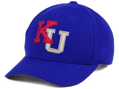 Kansas Jayhawks Top of the World NCAA Venue Adjustable Cap