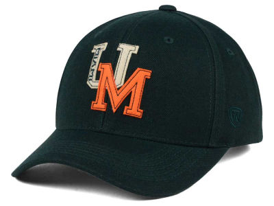 Miami Hurricanes Top of the World NCAA Venue Adjustable Cap