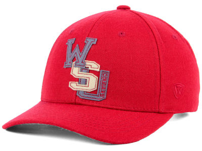 Washington State Cougars Top of the World NCAA Venue Adjustable Cap