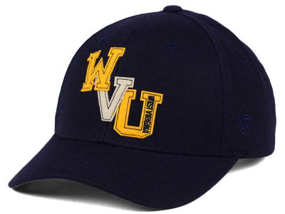 West Virginia Mountaineers Top of the World NCAA Venue Adjustable Cap