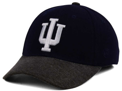 Indiana Hoosiers Top of the World NCAA Post Stretch Cap