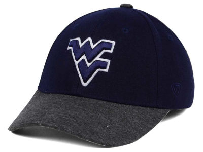 West Virginia Mountaineers Top of the World NCAA Post Stretch Cap