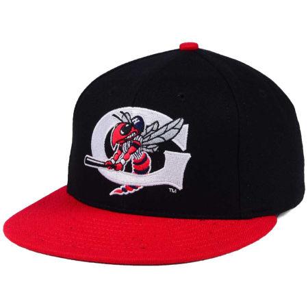 Greensboro Hornets MiLB Ebbets Field Collection Vintage Cap