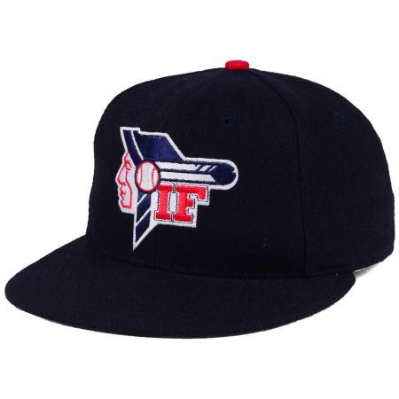 Idaho Falls Braves MiLB Ebbets Field Collection Vintage Cap