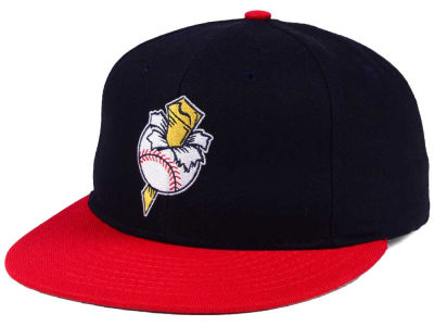 Omaha Golden Spikes MiLB Ebbets Field Collection Vintage Cap
