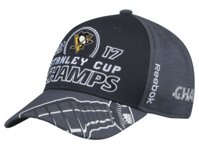 Pittsburgh Penguins Reebok 2017 NHL Stanley Cup Locker Room Champ Cap