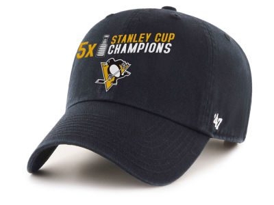 Pittsburgh Penguins '47 NHL 5X Stanley Cup Champ Cap