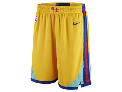 Golden State Warriors Nike NBA Men's City Swingman Shorts