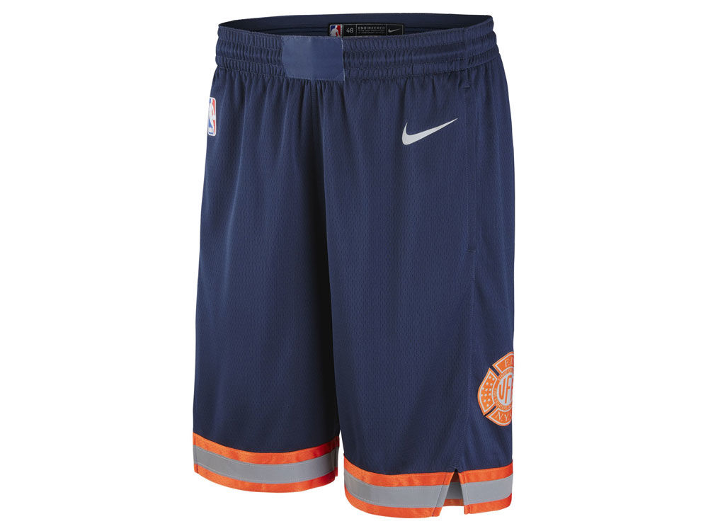 7b7954e17 New York Knicks Nike NBA Men s City Swingman Shorts