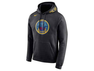 Golden State Warriors Nike 2017 NBA Men's City Club Fleece Hoodie