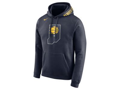 Indiana Pacers Nike 2017 NBA Men's City Club Fleece Hoodie