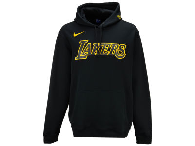 Los Angeles Lakers Nike 2017 NBA Men's City Club Fleece Hoodie