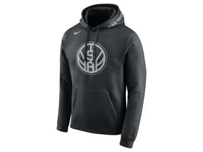 San Antonio Spurs Nike 2017 NBA Men's City Club Fleece Hoodie
