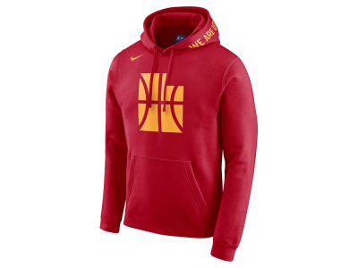 Utah Jazz Nike 2017 NBA Men's City Club Fleece Hoodie