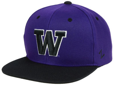 Washington Huskies Zephyr NCAA Static Snapback Cap