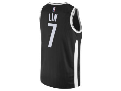 Brooklyn Nets Jeremy Lin Nike NBA Men's 2017 City Swingman Jersey