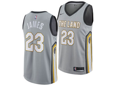 Cleveland Cavaliers Lebron James Nike NBA Men's 2017 City Swingman Jersey